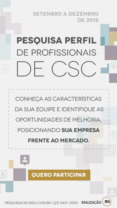 Pesquisa Perfil de Profissionais de CSC
