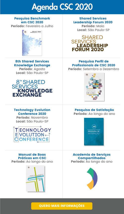 Agenda CSC IEG 2020